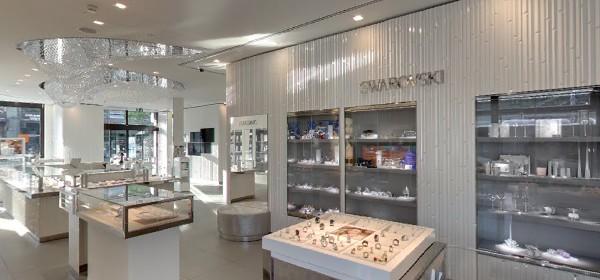 Swarovski Boutique Zürich | Google Street View Trusted Photographer